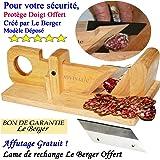 Guillotine à saucisson La Conviviale & Lame de Rechange Offert