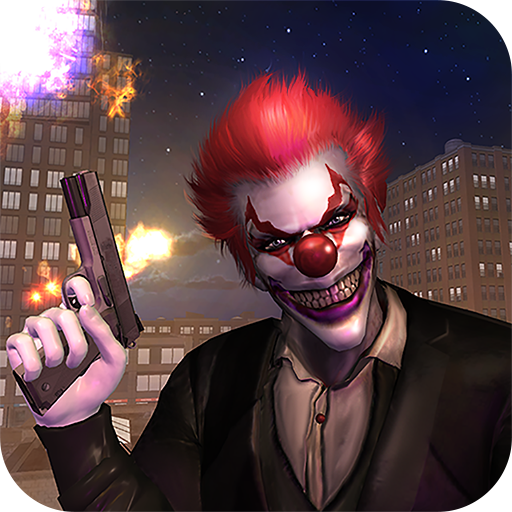 Killer Clown Bank Robbery Game -