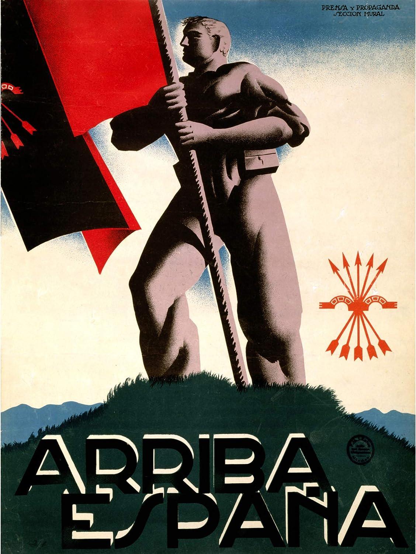 Wee Blue Coo War - Bandera de España con diseño de fascista española: Amazon.es: Hogar