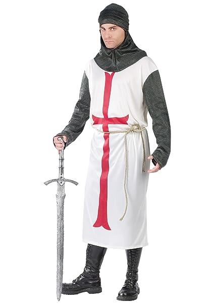 UMM 542861 Templarios Traje de Caballero con Cintur-n - Adulto ...