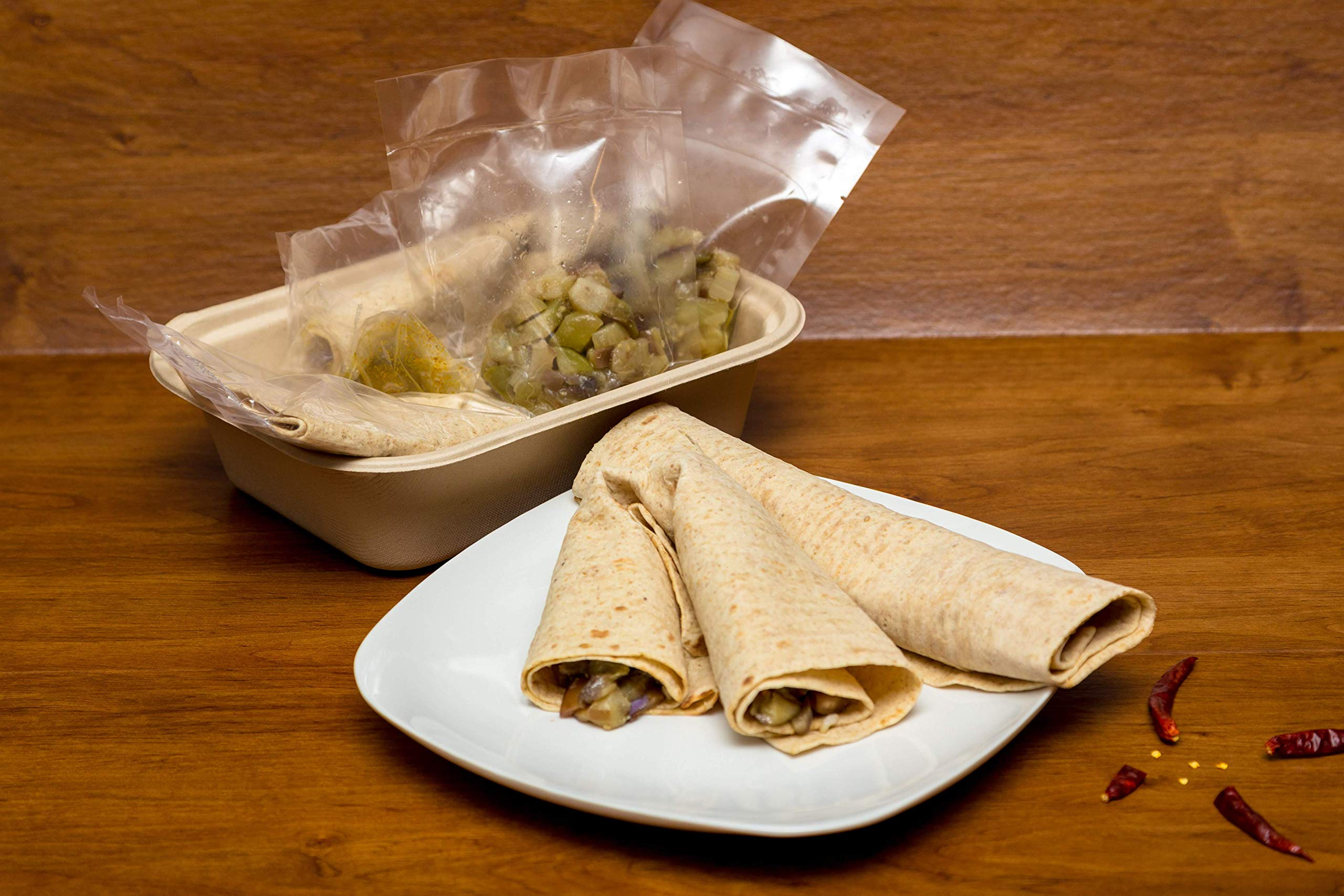Eggplant Lavash Meal Kit