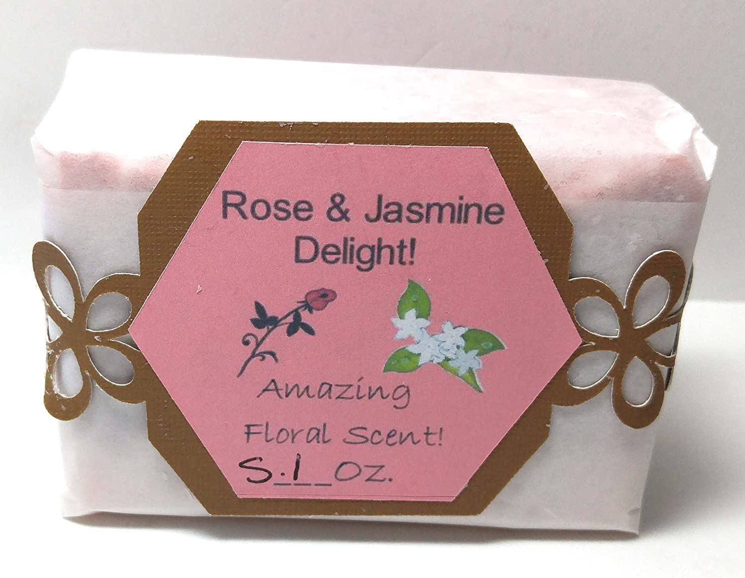 Amazon.com: Rose and Jasmine Natural Soap: Handmade