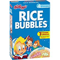 Kellogg's Rice Bubbles, Breakfast Cereal, 410g