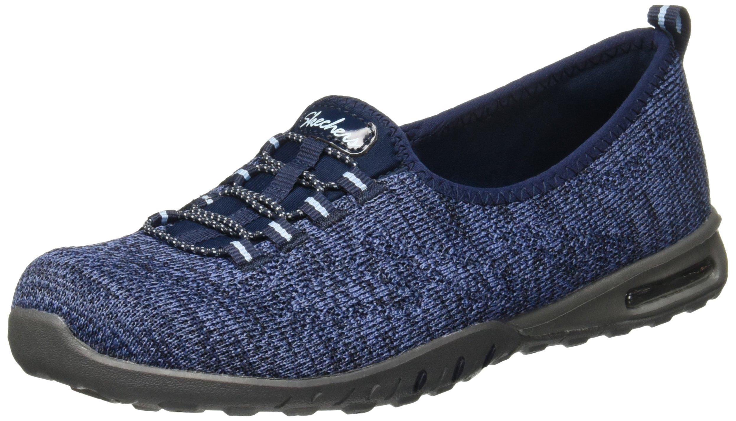 Skechers Relaxed Fit Easy Air In My Dreams Womens Slip On Sneakers Navy 8