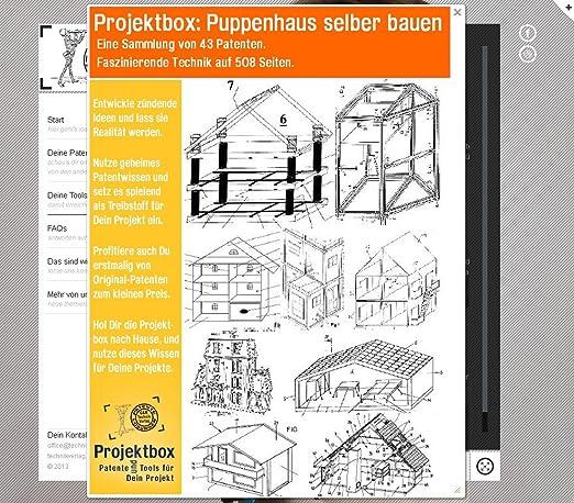 Puppenhaus Selber Bauen: Deine Projektbox Inkl. 43 Original Patenten Bringt  Dich Mit Spaß