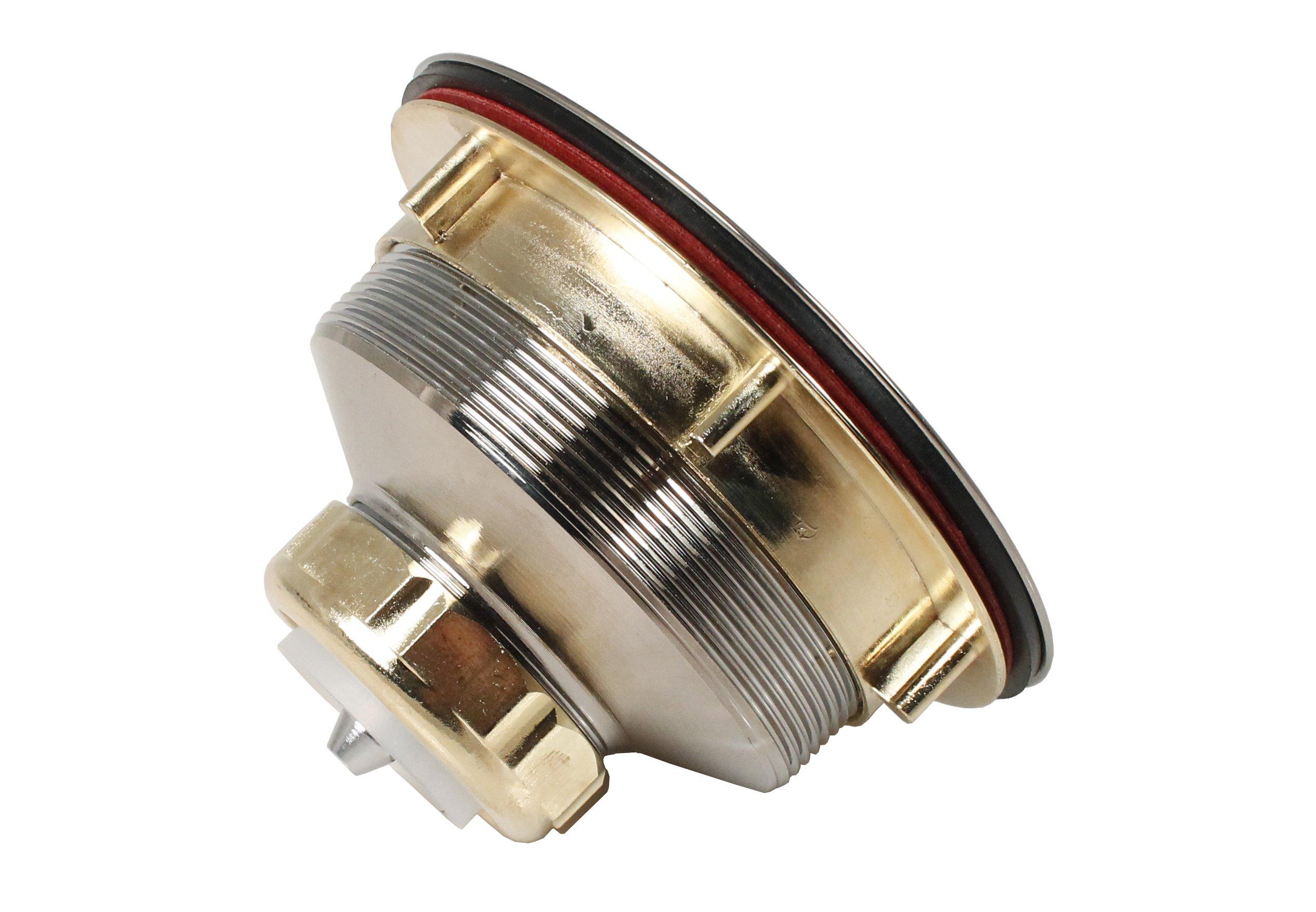 Keeney K1439SS Deep Thread Cast Brass Sink Power Ball Basket, Complete Kitchen Strainer 4.5'', Stainless Steel by Keeney (Image #8)