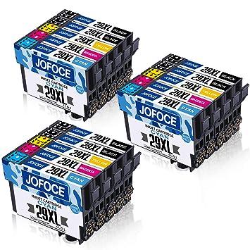 Jofoce Reemplazo para EPSON 29 29XL Cartuchos de tinta, Compatible ...