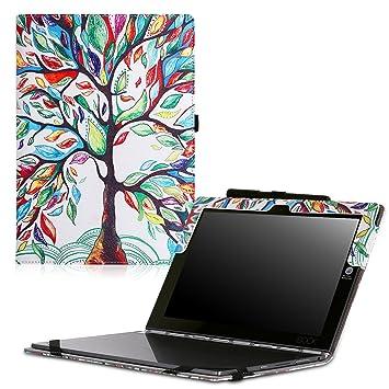 MoKo Lenovo Yoga Book Funda - Ultra Slim Función de Soporte Plegable Smart Cover Stand Case para Lenovo Yoga Book YB1-X90F, YB1-X91F 10.1 Pulgadas ...