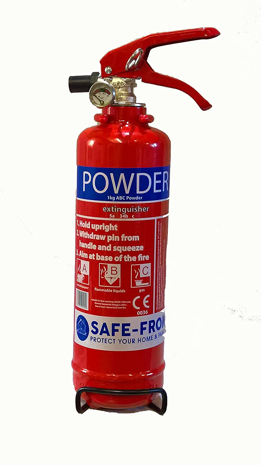 1kg ABC Fire Extinguisher Safe-From