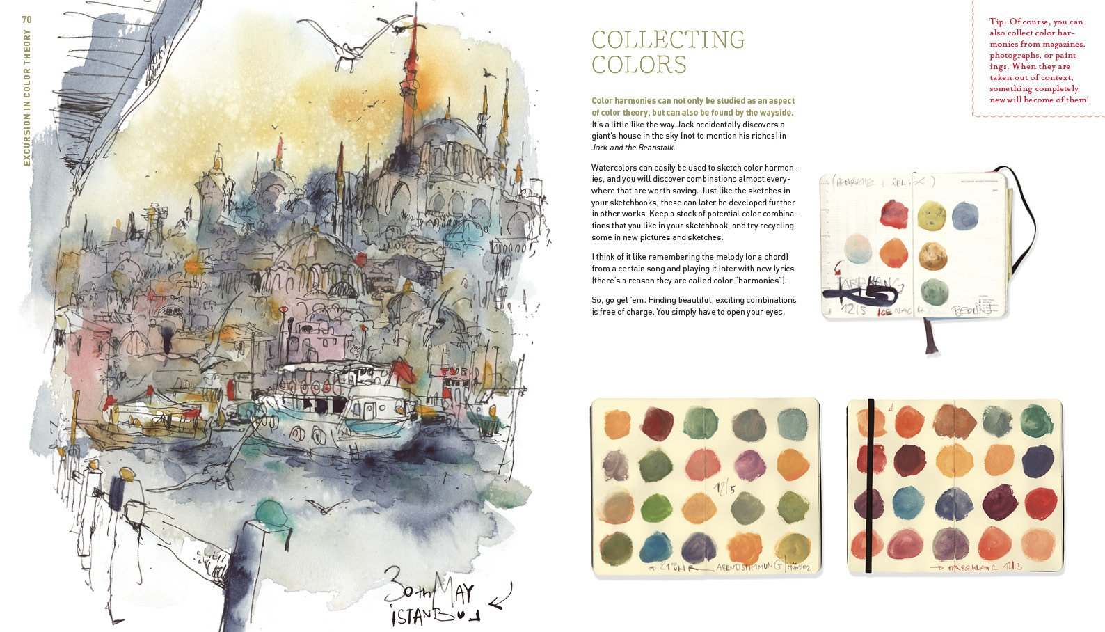 Urban Watercolor Sketching: A Guide to Drawing, Painting, and ...