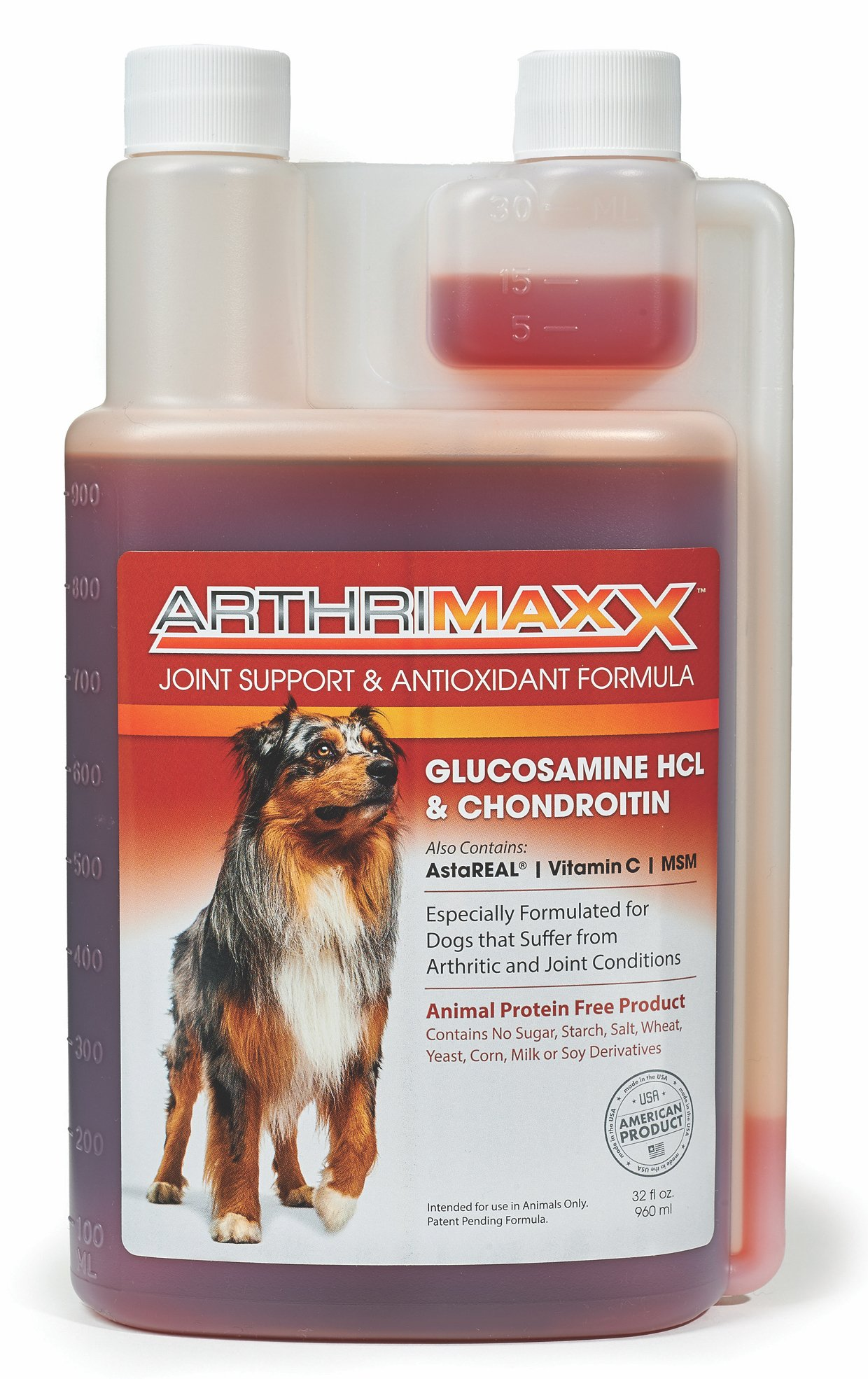 ArthriMaxx Liquid Joint Protection Supplement for Dogs, 32 Oz. Bottle