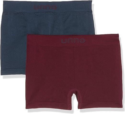 UNNO Auuh101, Boxer Sin Costuras, De Microfibra Para Hombre, Multicolor (Gris Verdoso/Burdeos), S/M: Amazon.es: Ropa y accesorios