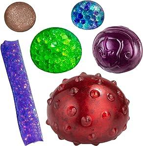 ORB Odditeez Mystery Box - Cute Fidget & Sensory Toys for Boys & Girls. Best Gift for Kids!
