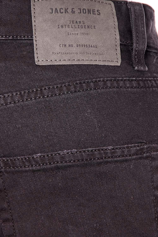 Jack /& Jones Mens 12111756BLACK Black Cotton Jeans