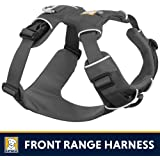 Ruffwear All Day Adventure Dog Harness, Medium Breeds, Adjustable Fit, Size: Medium, Twilight Grey, Front Range Harness, 30501-025M
