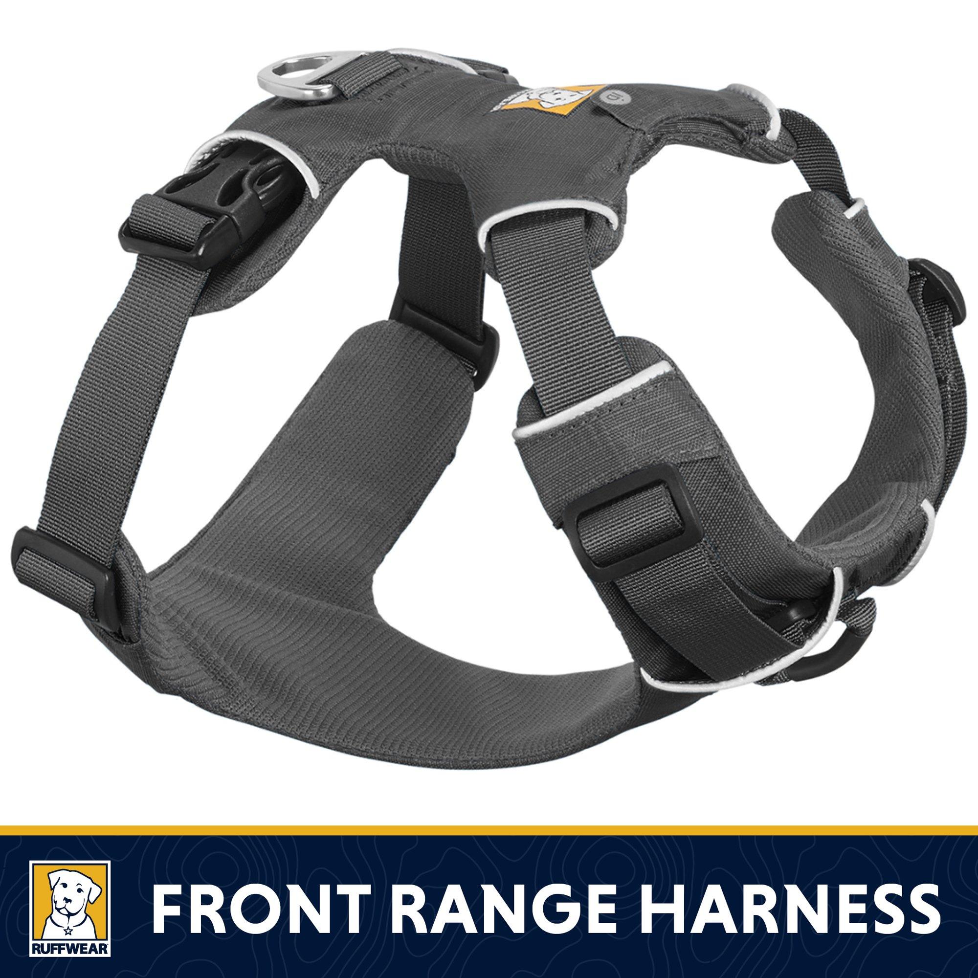 RUFFWEAR - Front Range No-Pull Dog Harness with Front Clip, Twilight Gray, Medium