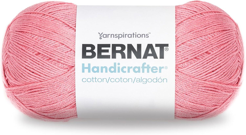 S Ball Bernat Hilo de algod/ón Handicrafter Hot Pink