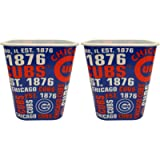 Baseball Cubs Snack Buckets - 7'x6.5'- Perfect for Game Watching, Movie Watching, or Use as a Storage Bin!