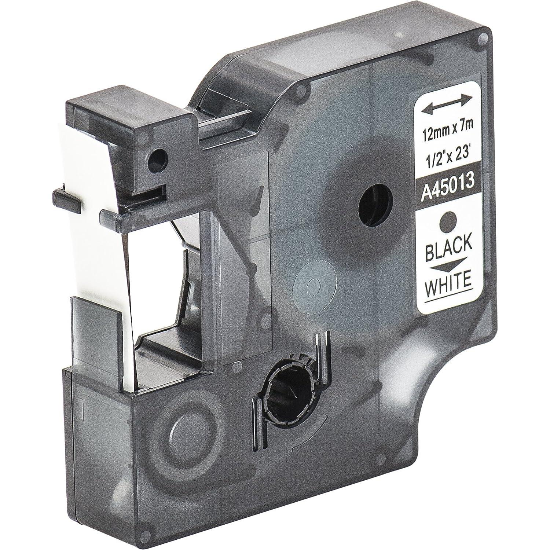 LMPC2 LM160 LM200 LM150 15 Cartuchos para impresi/ón de etiquetas compatible con Dymo D1 45013 en negro sobre blanco 12 mm x 7 m para la LabelManager LabelPoint LabelWriter para DYMO LabelPOINT /& LabelManager LM100 LM220P LM210D LM120P