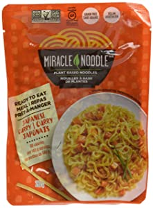 Miracle Noodle Ready-to-Eat Meal Japanese Curry Noodle, 0.56 lb