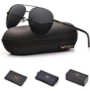 576bdbed35e5 Amazon.com  J+S Premium Military Style Classic Aviator Sunglasses ...