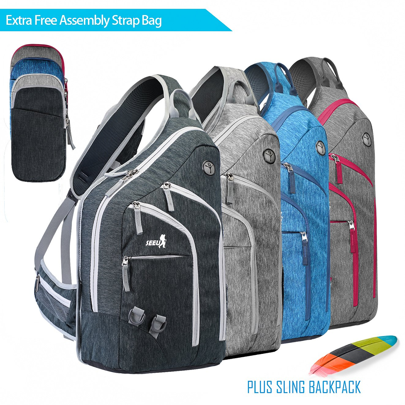 Backpack Plus Carry On Luggage- Fenix Toulouse Handball ef35073b73aa6