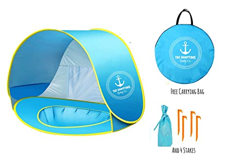 Pop-up Beach u0026 Outdoor Baby Tent Protective u0026 Portable Sun Shelter Provides  sc 1 st  Amazon.com : baby spf tent - memphite.com