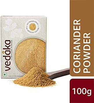 Amazon Brand - Vedaka Coriander (Dhania) Powder, 100g