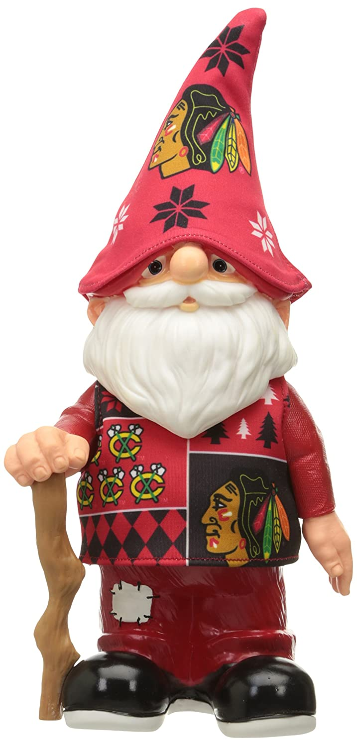 Forever Collectibles Chicago Blackhawks 11.5 inch Ugly Sweater Gnome