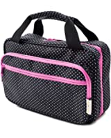 Versatile Travel Cosmetic Bag By B&C - Hanging Toiletry Organizer With Many Pockets