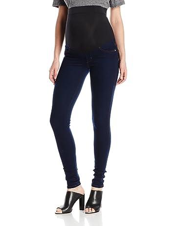 bd965eea48d84 James Jeans Women's Twiggy Maternity External Band Skinny Jean in 8767 Dark