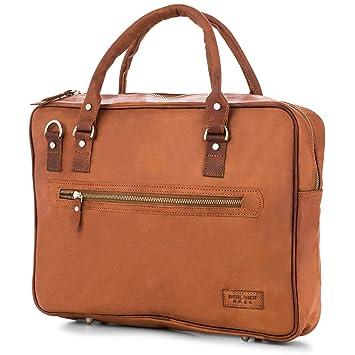 21092d623b6cd Laptoptasche Berliner Bags Madrid Leder 15 Zoll Aktentasche Businesstasche  Umhängetasche Handtasche Vintage Braun Herren Damen