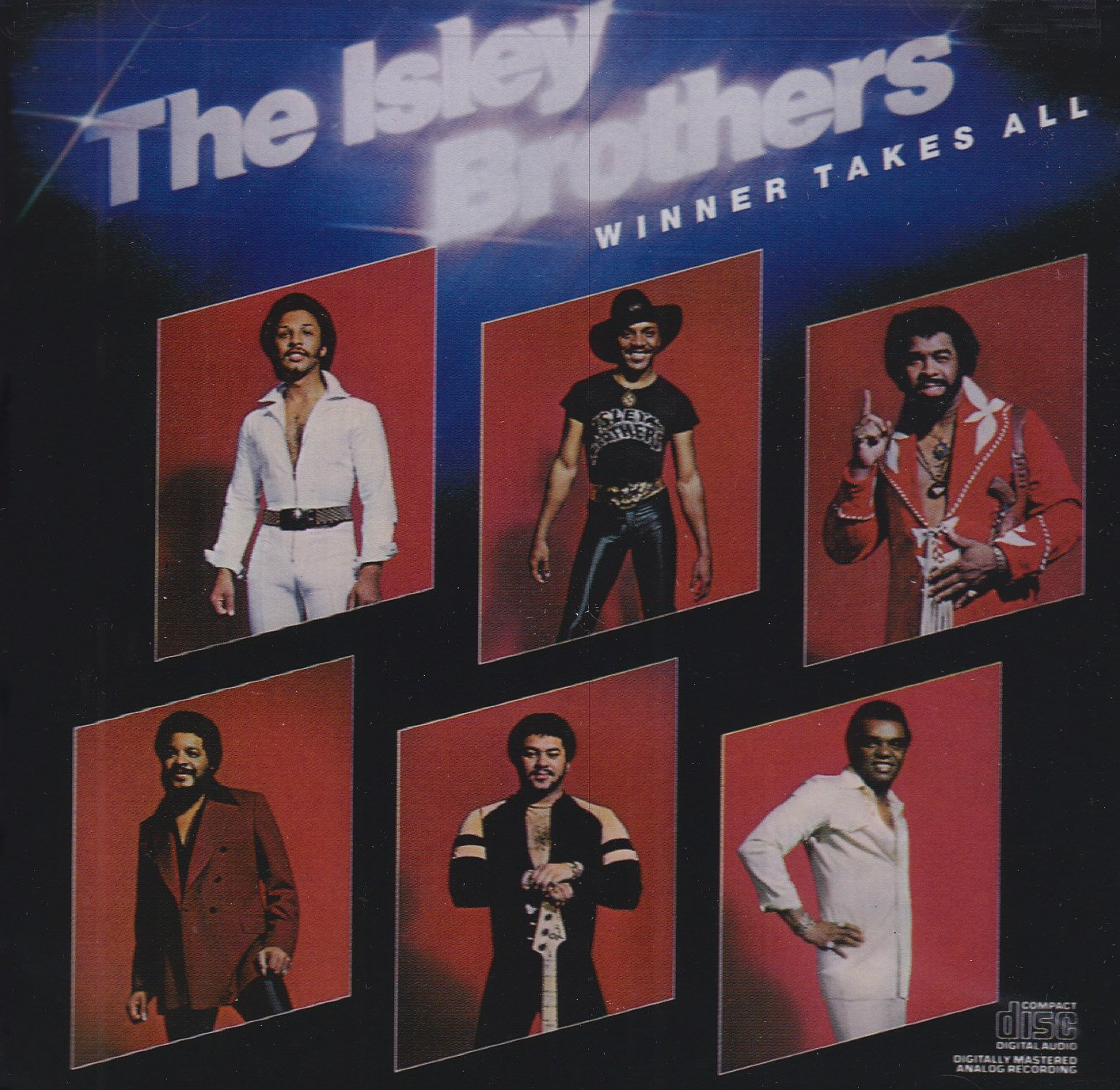 CD : The Isley Brothers - Winner Takes All (CD)