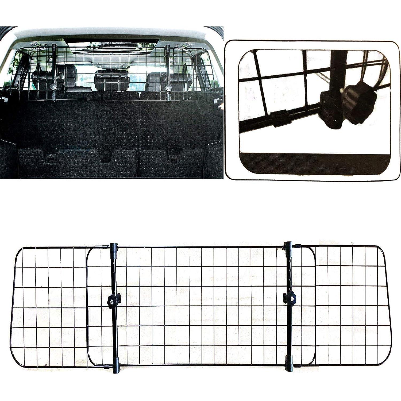 Shield Autocare /© Heavy Duty Premium Headrest Travel Mesh Grill Dog Pet Safety Ajustable Guard Barrier SAMESH2003