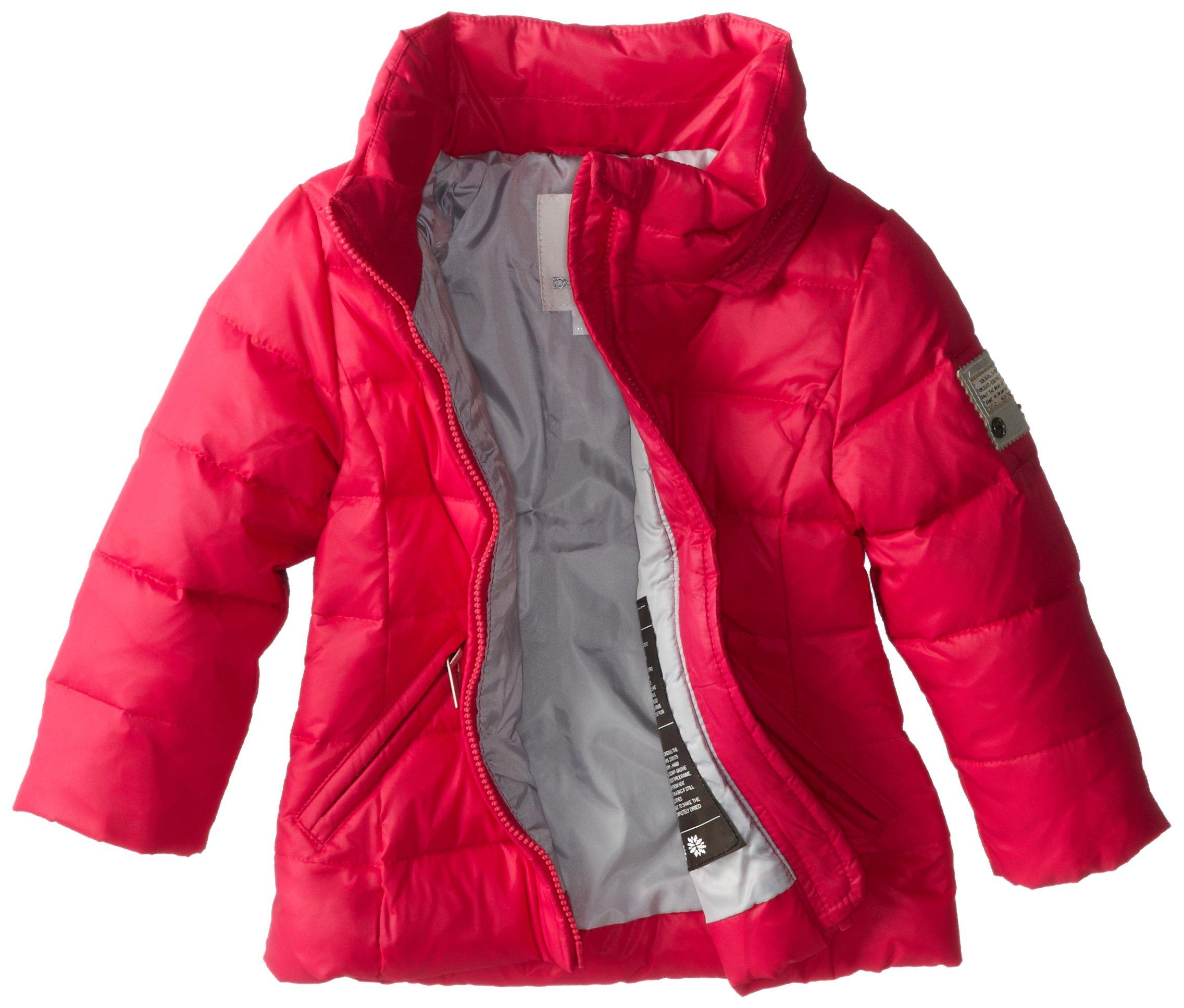 Diesel Baby Girls' Jimib Down Hooded Jacket, Fuchsia, 12 Month by Diesel (Image #2)