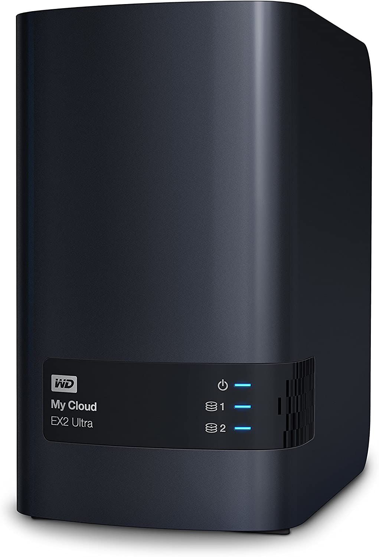 WD 12TB My Cloud EX2 Ultra Almacenamiento en Red: Western-Digital ...