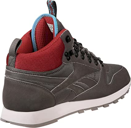 Reebok CL Leather Mid MC Shoes Stone red  Amazon.co.uk  Shoes   Bags ef84e82cf