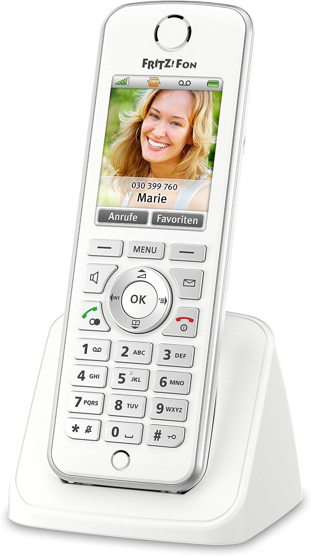 AVM Fritz!Fon - Teléfono inalámbrico (Documentación y menú sólo en alemán): Amazon.es: Electrónica