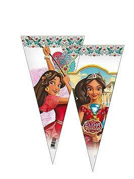 ALMACENESADAN 2361; Pack 6 Bolsas de Cono Disney Elena de ...