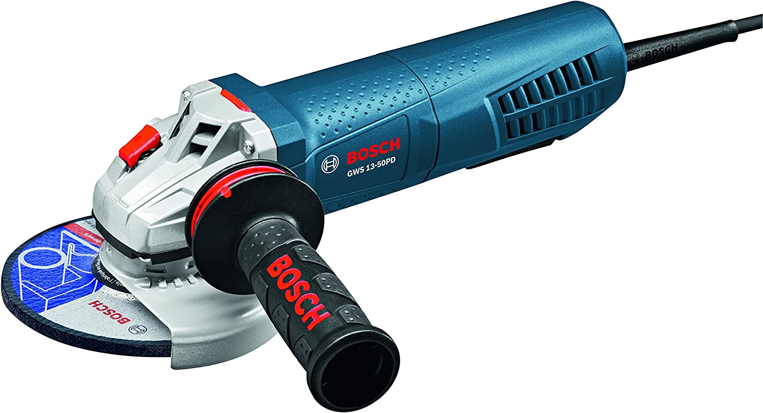 """Bosch GWS13-50PD High-Performance Angle Grinder with No-Lock-On Paddle Switch, 5"""""""