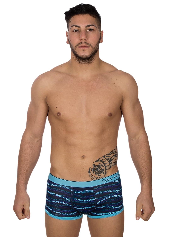 Boxer LOGATO Microfibre Blue/Black U8516?A?-?5?WL?-?Calvin Klein