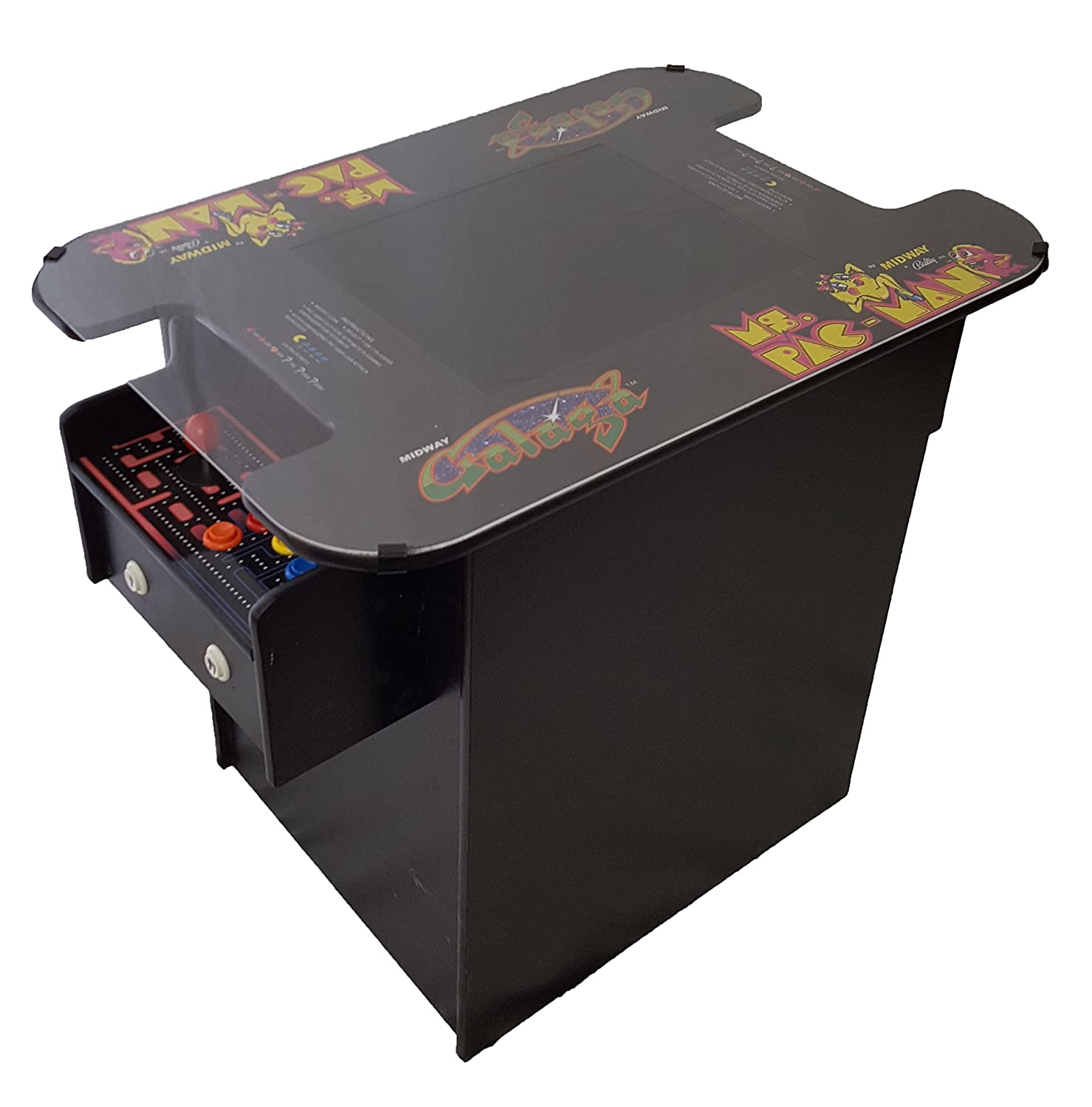 Amazon Ms Pac Man Galaga Classic Cocktail Table Arcade