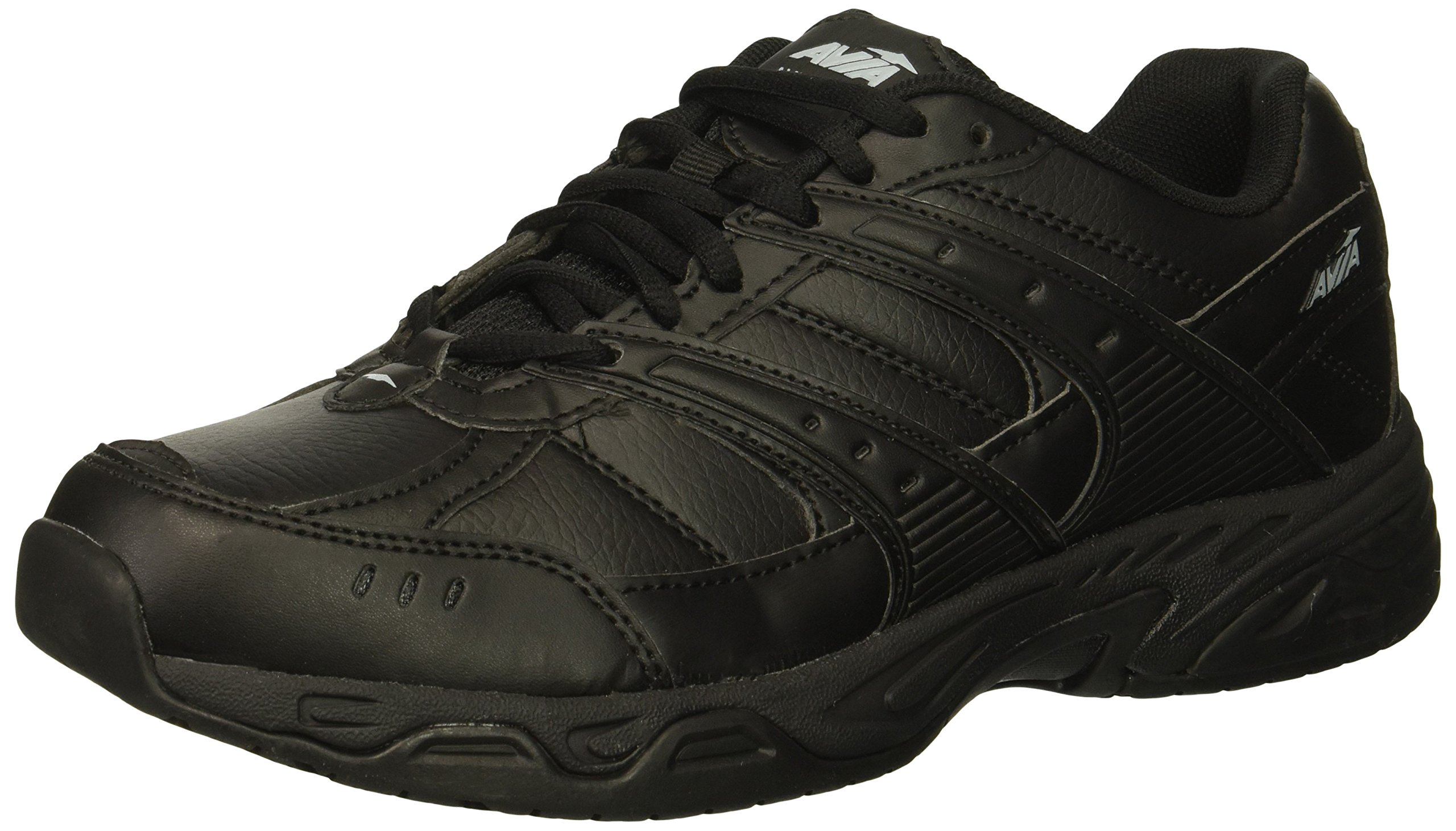 Avia Women's Avi-Union II Food Service Shoe, Black/Castle Rock, 8.5 Wide US by Avia