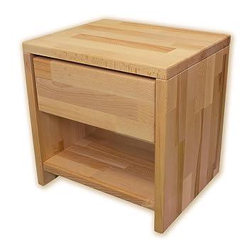 Betten Abc Bubema Nachttisch Buche Massivholz Montiert Schublade