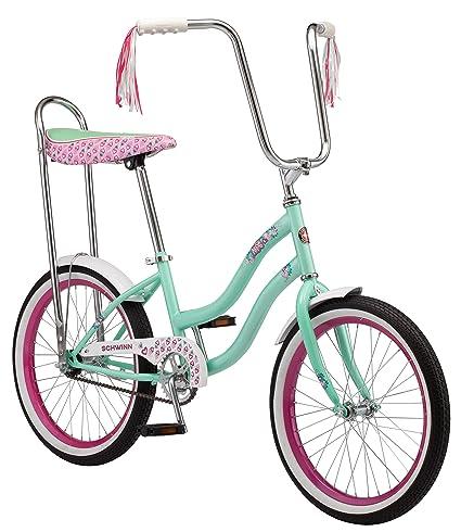 e3d982d2731 Amazon.com : Schwinn S2367B Mist Girls Polo Bike, 20