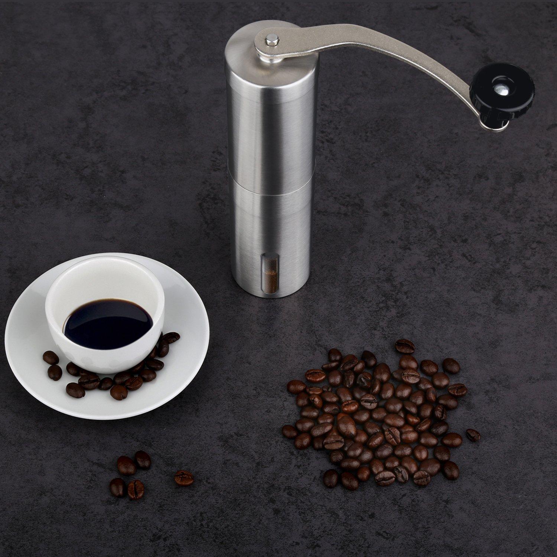 Decen Moulins Manuels - Moulins à Café - Manuel Hand Coffee Grinder - des Meuleuses en Céramique - en Acier Inoxydable