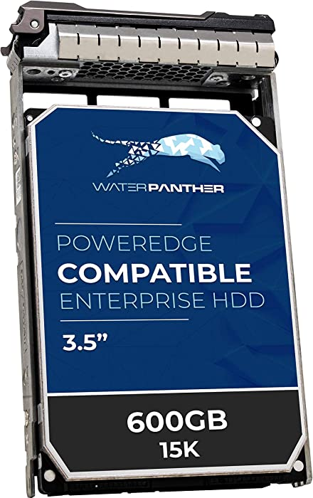 """600GB 15K SAS 6Gbps 3.5"""" HDD for Dell PowerEdge Servers 