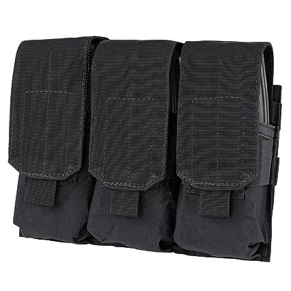 Amazon Com Condor Triple M4 Mag Pouch Black Gun Ammunition And