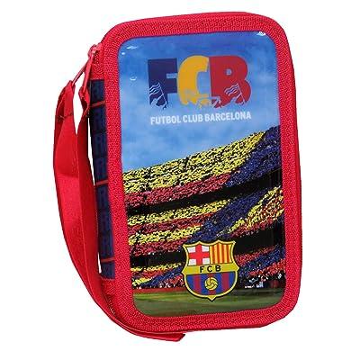 FC BARCELONA PLUMIER 3 PISOS: Juguetes y juegos