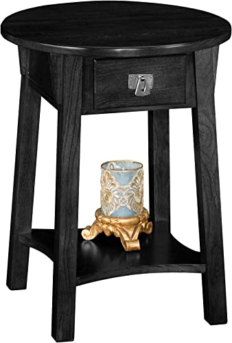 Leick Anyplace Side Table – Slate Black